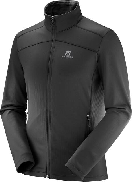 Salomon Discovery LT FZ Jacket Men black